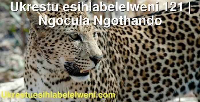 Ukrestu esihlabelelweni 121 | Ngocula Ngothando