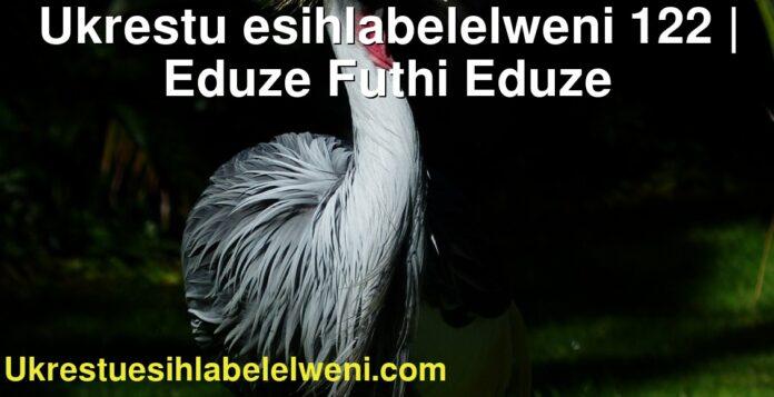 Ukrestu esihlabelelweni 122 | Eduze Futhi Eduze