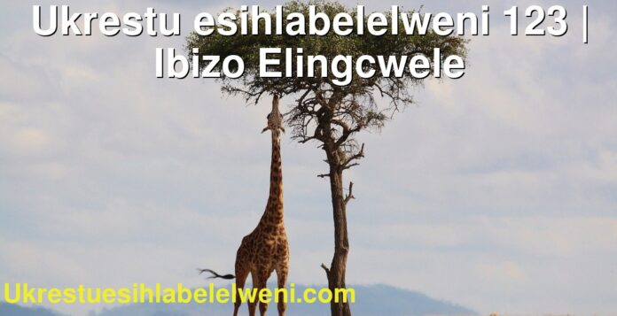 Ukrestu esihlabelelweni 123 | Ibizo Elingcwele