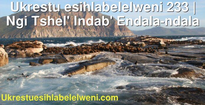 Ukrestu esihlabelelweni 233 | Ngi Tshel' Indab' Endala-ndala