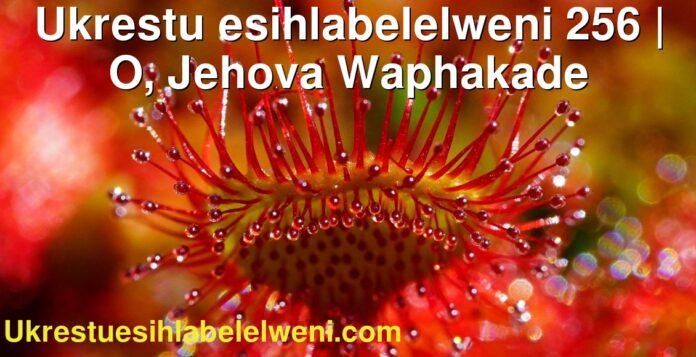Ukrestu esihlabelelweni 256 | O, Jehova Waphakade