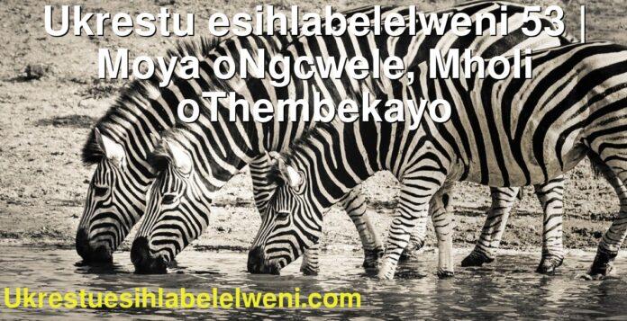 Ukrestu esihlabelelweni 53   Moya oNgcwele, Mholi oThembekayo
